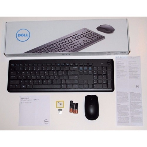 DELL WIRELESS KEYBOARD AND MOUSE SET