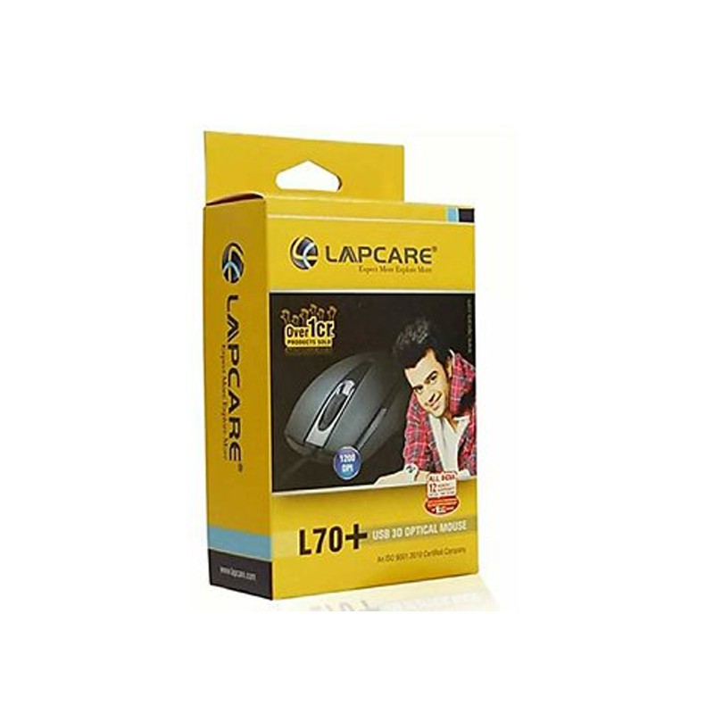 LAPCARE WIRED MOUSE
