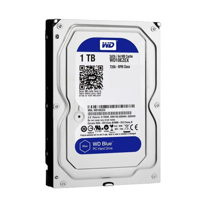 DESKTOP WD 1TB HDD NEW (2 YEAR WARRENTY)