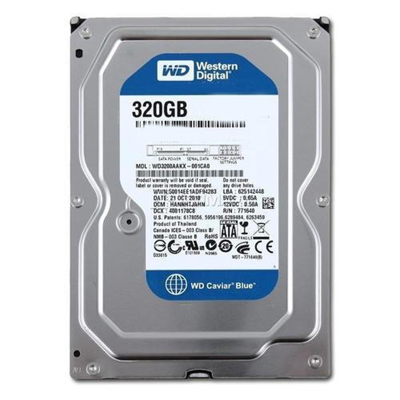 DESKTOP WD 320GB HDD (1 YEAR WARRENTY)