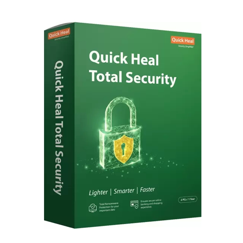 QUICK HEAL TOTAL SECURITY ANTIVIRUS 3 USER